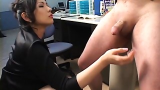 Asian, MILF, Office, Sex Toys