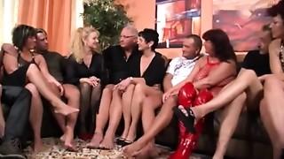 Grannies,Group Sex,Mature,MILF,Party