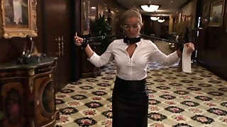 Blowjob, Extreme, Maid, Stockings