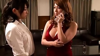 Asian, Big Boobs, Lesbian, Mature