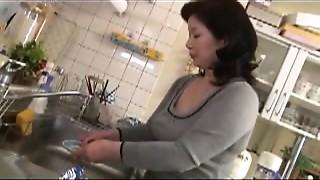 Asian, Mature, MILF, Stepmom
