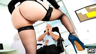 Big Ass, Big Boobs, Blonde, Facial, Latina, MILF, Natural, Stockings