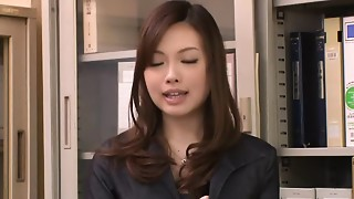 Asian, Blowjob, Creampie, Sex Toys