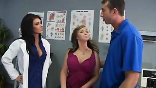 Big Boobs, Big Cock, Doctor, Nurse, Office, Pornstar, Uniform, Wife