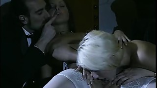 Anal, Ass licking, Ass to Mouth, Group Sex, Fucking, MILF, Stockings, Threesome