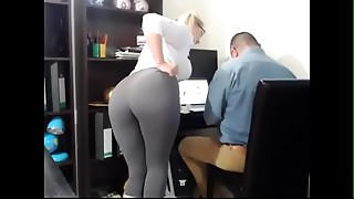 Big Ass, Big Boobs, Mature, Office, Orgasm, Secretary
