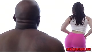Anal, Babe, Big Ass, Close-up, Doggystyle, Extreme, Facial, Gaping, Fucking, Interracial