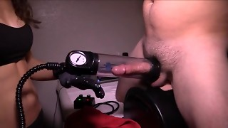 Cumshot, Fucking, Machine, Orgasm