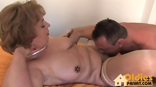 Ass licking, Babe, Big Ass, Big Boobs, Blonde, Blowjob, Cumshot, Grannies, Fucking, Mature