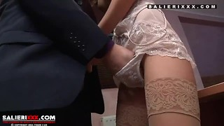Blowjob, Extreme, Fetish, Fucking, Masturbation, Nylon, Orgasm, Stockings, Teen