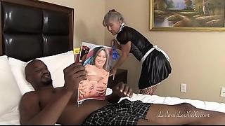 Big Boobs, Big Cock, Interracial, Maid, MILF, Petite
