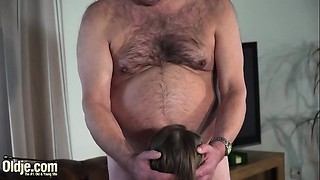 Blowjob, Cumshot, Daddy, Doggystyle, Facial, Grannies, Fucking, Old and young, Orgasm, Teen