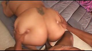 BBW, Big Ass, Big Boobs, Big Cock, Interracial