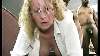 Creampie, Gangbang, Mature, Office, Party, Wife