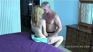 Beautiful, Blowjob, Creampie, Cumshot, Doggystyle, Natural, Old and young, Orgasm, Teen