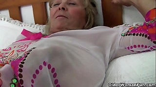 Big Boobs, British, Grannies, Fucking, Mature, MILF, Old and young, Stepmom
