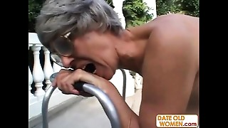 Grannies, Mature, MILF, Old and young, Outdoor, Stepmom