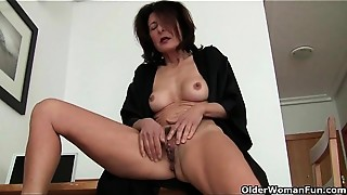 Grannies, Masturbation, Mature, MILF, Old and young, Solo, Stepmom, Wet