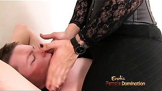 BDSM, Big Ass, Brunette, Face Sitting, Femdom, Foot Fetish