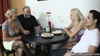 Couple, Daddy, Mature, MILF, Seduced, Slut, Stepmom, Teen, Threesome, Wife