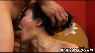 Asian, Big Ass, Cumshot, Gaping, MILF, Orgasm, Wet