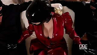 Anal, Latex, Masked, Threesome