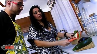 Anal, Fisting, Kitchen, Mature, MILF, Slut, Squirting