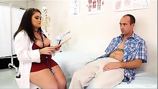 BBW, Big Boobs, Big Cock, Doctor, Uniform