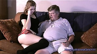 Blowjob, Cumshot, Mature, Old and young, Teen