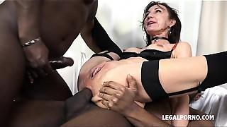 Amateur, Anal, Big Cock, Black and Ebony, Cumshot, Double Penetration, Fucking, Interracial, Slut