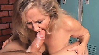 Beautiful, Big Boobs, Blonde, Blowjob, Cumshot, Grannies, Housewife, Mature, MILF, Old and young