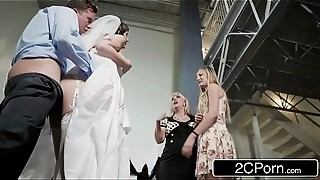 Big Boobs,Blowjob,Brunette,Cheating,Doggystyle,Dress,Handjob,Fucking,High Heels,Lingerie