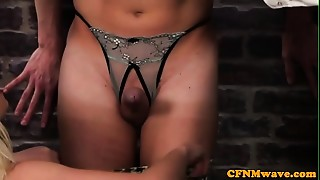 Anal, Babe, Big Ass, British, CFNM, Cumshot, Femdom, Group Sex, Office, Redhead