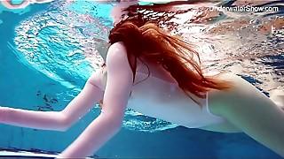Bikini, Gym, Outdoor, Pool, Redhead, Softcore, Teen