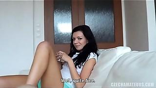 Amateur, Blowjob, Brunette, Cumshot, Czech, Foot Fetish, POV, Reality
