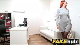 Big Cock,Blowjob,Casting,Cumshot,Fake,Orgasm,Reality,Redhead,Wet