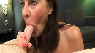 Blowjob, British, Grannies, Mature, MILF, Old and young