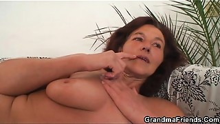 Double Penetration, Grannies, Mature, MILF, Old and young, Slut, Stepmom, Threesome