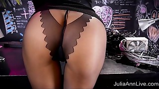 Babe, Big Ass, Big Boobs, Blonde, Fingering, High Heels, Lingerie, Masturbation, MILF, Solo
