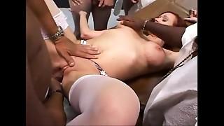 Creampie, Cumshot, Gangbang, Fucking, Redhead