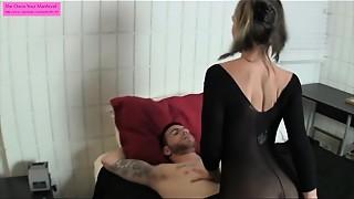 Ass licking, Foot Fetish, Handjob, Orgasm, Panties, Pantyhose