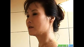 Asian, Blowjob, Mature, Solo