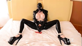 BDSM,Big Boobs,Fetish,Latex,Masturbation,Orgasm,Sex Toys