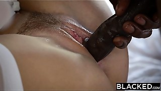 Big Cock, Black and Ebony, Brunette, Cheating, Cumshot, Doggystyle, Facial, Interracial, Kissing, Lingerie