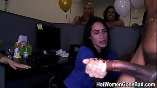 Amateur, Big Ass, Big Boobs, Big Cock, Blowjob, CFNM, Glasses, Latina, Party, Reality