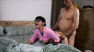 Big Ass, Big Boobs, Black and Ebony, Blowjob, Cumshot, Daddy, Facial, Glasses, Grannies, Tattoo