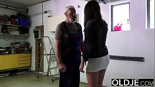 Babe, Blowjob, Daddy, Grannies, Money, Old and young, Teen