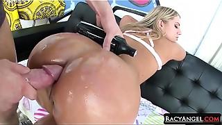 Anal, Ass licking, Ass to Mouth, Big Ass, Big Boobs, Big Cock, Blonde, Blowjob, Compilation, Gaping