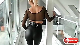 BDSM, Blonde, Femdom, Fetish, Girlfriend, Fucking, Latex, Panties