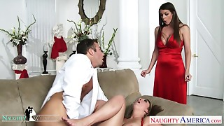 Big Boobs,Big Cock,Blowjob,Office,Pornstar,Threesome